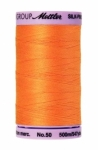 Thread - Silk Finish Cotton 50wt, 547yds Pumpkin