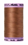 Thread - Silk Finish Cotton 50wt, 547yds  Walnut