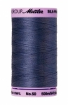 Thread - Silk Finish Cotton 50wt, 547yds  Blue Shadow