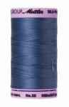 Thread - Silk Finish Cotton 50wt, 547yds Smoky Blue