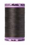 Thread - Silk Finish Cotton 50wt, 547yds Dark Charcoal