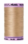 Thread - Silk Finish Cotton 50wt, 547yds Straw