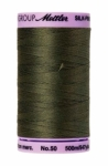 Thread - Silk Finish Cotton 50wt, 547yds Burnt Olive