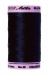 Thread - Silk Finish Cotton 50wt, 547yds Dark Blue