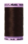 Thread - Silk Finish Cotton 50wt, 547yds Very Dark Brown