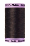 Thread - Silk Finish Cotton 50wt, 547yds Charcoal