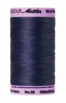 Thread - Silk Finish Cotton 50wt, 547yds  True Navy