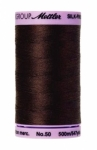 Thread - Silk Finish Cotton 50wt, 547yds Black Peppercorn