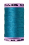 Thread - Silk Finish Cotton 50wt, 547yds Caribbean Blue