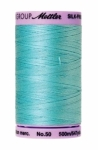 Thread - Silk Finish Cotton 50wt, 547yds Blue Curacao