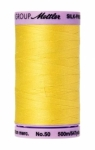 Thread - Silk Finish Cotton 50wt, 547yds Lemon Zest