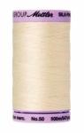 Thread - Silk Finish Cotton 50wt, 547yds Antique White