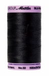 Thread - Silk Finish Cotton 50wt, 547yds Black