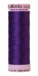 Silk-finish 50wt Solid Cotton Thread 164yd/150m Iris Blue