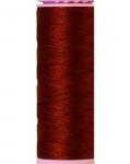 Mettler Thread-Silk Finish Cotton 50 wt, 164 yds Friar Brown