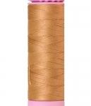 Mettler Thread-Silk Finish Cotton 50 wt, 164 yds Dark Rattan