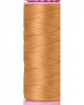 Mettler Thread-Silk Finish Cotton 50 wt, 164 yds Caramel Cream