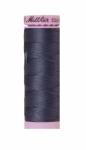 Silk-finish 50wt Solid Cotton Thread 164yd/150m Blue Shadow