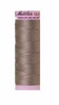 Silk-finish 50wt Solid Cotton Thread 164yd/150m Rain Cloud