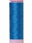 Mettler Thread-Silk Finish Cotton 50 wt, 164 yds Mediterranean Blue