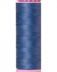 Mettler Thread-Silk Finish Cotton 50 wt, 164 yds Smokey Blue