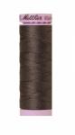 Silk-finish 50wt Solid Cotton Thread 164yd/150m Dark Charcoal