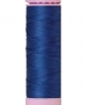Mettler Thread-Silk Finish Cotton 50 wt, 164 yds Snorkel Blue