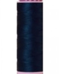 Mettler Thread-Silk Finish Cotton 50 wt, 164 yds Slate Blue