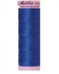 Mettler Thread-Silk Finish Cotton 50 wt, 164 yds Cobalt Blue
