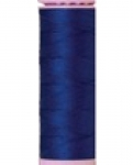 Mettler Thread-Silk Finish Cotton 50 wt, 164 yds Royal Navy
