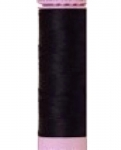 Mettler Thread-Silk Finish Cotton 50 wt, 164 yds Dark Blue