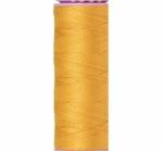 Thread - Silk Finish Cotton 50wt, 164yds Star Gold