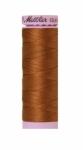 Silk-finish 50wt Solid Cotton Thread 164yd/150m Light Cocoa