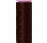 Thread - Silk Finish Cotton 50wt, 164yds  Very Dark Brown