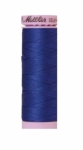 Thread - Silk Finish Cotton 50wt, 164yds Fire Blue