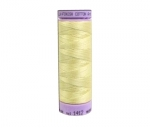 Thread - Silk Finish Cotton 50wt, 164yds Lemon Frost