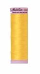Thread - Silk Finish Cotton 50wt, 164yds Vibrant Yellow