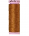 Mettler Thread-Silk Finish Cotton 50 wt, 164 yds Bronze Brown