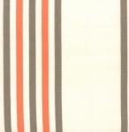 MODA FABRICS - Toweling 920 188 Fiesta Border Stripe Mango 16 Inch