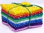 Rainbow Batik Fat Quarter Bundle 10 pcs