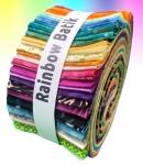Rainbow Batik 2.5 Inch Roll