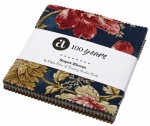 Andover - Super Bloom 5X5 Charm - Edyta Sitar of Laundry Basket Quilts