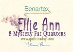 Benartex - Mystery Ellie Ann Fat Quarter Bundle 8 pcs