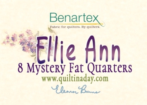 Benartex - Mystery Ellie Ann Fat Quarter Bundle 8 pcs