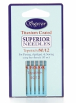 Superior Topstitch Machine Needles Size 80/12 5ct