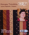 Aurifil Kansas Troubles Quitlers Collection 50wt 10 Small Spools by Lynne Hagmeier