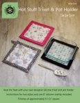 Hot Stuff Large Trivet and Pot Holder by Around the Bobbin
