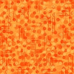 BLANK TEXTILES - Jotdot - Orange