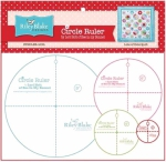 Lori Holt Circle Rulers with 9in , 6in , 4in and 2.5in