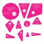 Tula Sunrise 11pc Acrylic Template Set